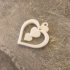 Heart Keychain or Pendant image