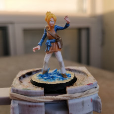Picture of print of Crystal Wizard