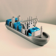 Picture of print of Container Ship