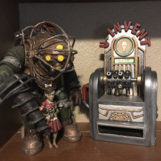 Picture of print of U-Invent Station from Bioshock