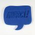 """Mold """"Merci!' and """"Thanks"""" - Speech Balloon image"""