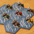 one piece harbours for 2.0 Catan set image