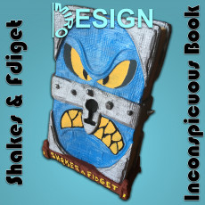 Shakes & Fdiget - Inconspicuous Book