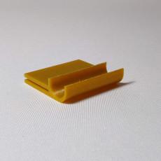 Notebook pen clip for 3D Printable Bolt Action Pen