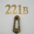 Sherlock's 221B Door Kit image