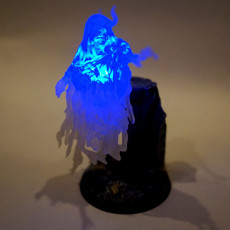 Picture of print of Wraith - D&D Miniature This print has been uploaded by Dr. T