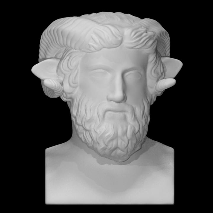 Herm of Zeus Amun