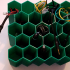 Honeycomb wire rack for misc wires image
