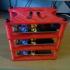 Raspbery Pi Cluster Rack image