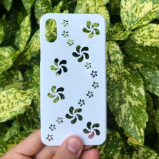 iPhone X/XS case -  Flowers  Edition