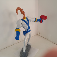 Picture of print of Earthworm Jim