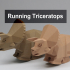 Running Triceratops image