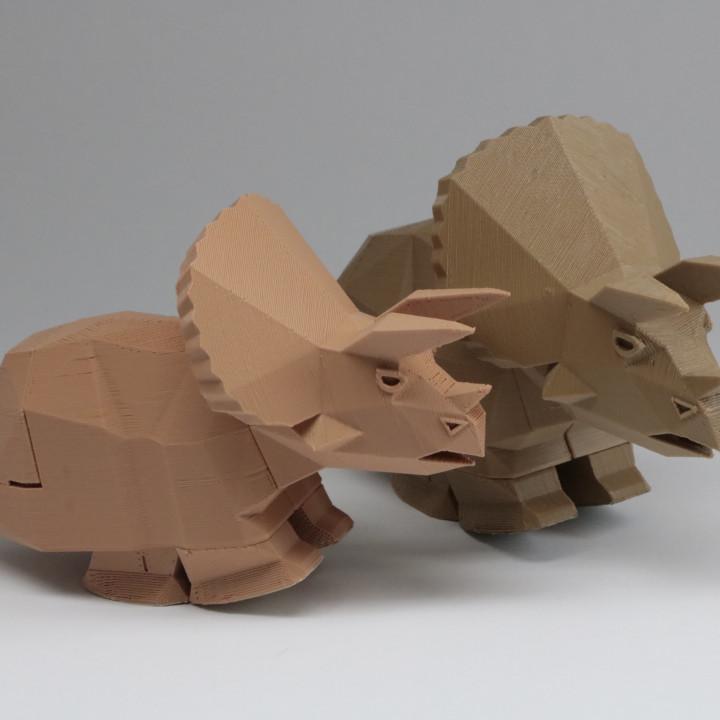 Running Triceratops