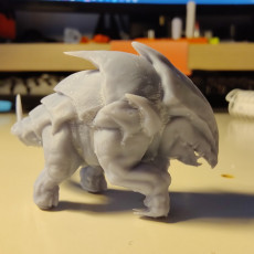 Picture of print of Bulette - D&D Miniature