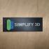 Simplify 3D Sign image