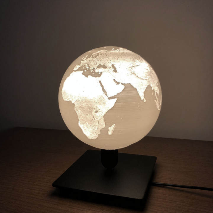 World Table Lamp
