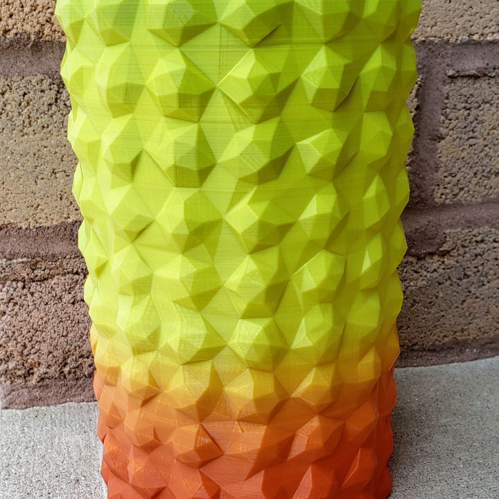 Tall Low Poly Tube