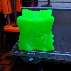 Picture of print of Gelatinous Cube