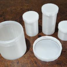 Storage Pot set