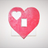 Heart light switch cover image