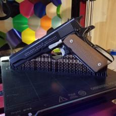 Prop gun- Colt 1911 - Multicolor