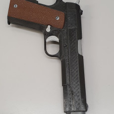Picture of print of Prop gun- Colt 1911 - Multicolor This print has been uploaded by Peter