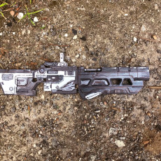 Borderlands 3 Rifle (For small print beds)