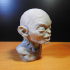 Golum bust, from Lord Of The Rings image