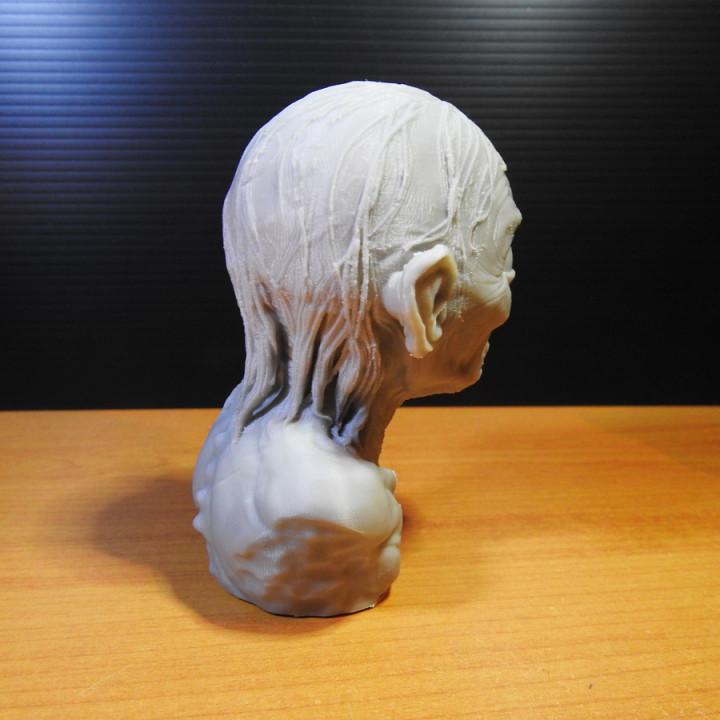 Golum bust, from Lord Of The Rings