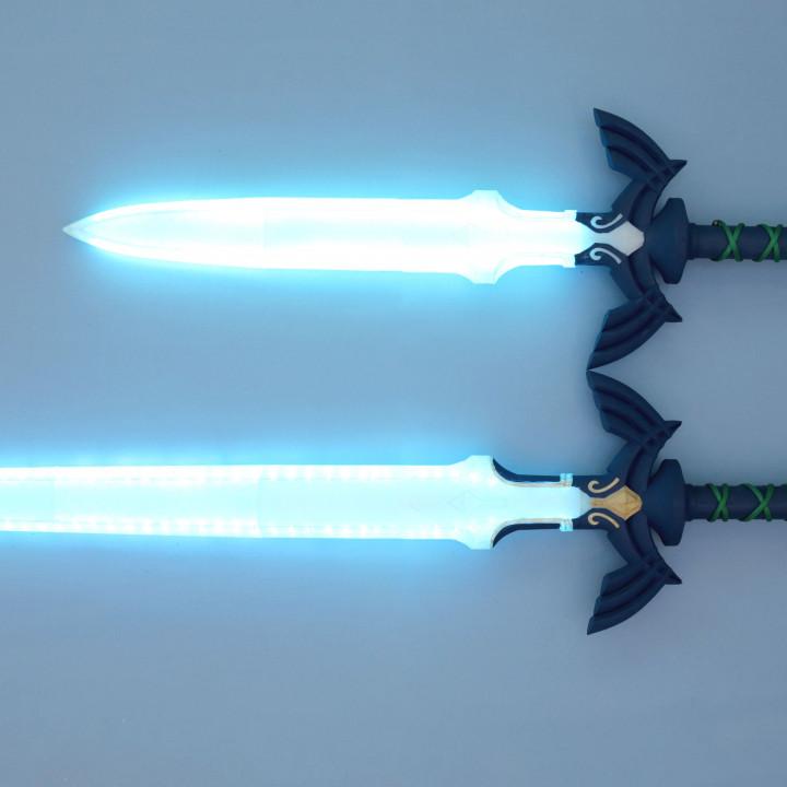 LED Zelda Master Sword