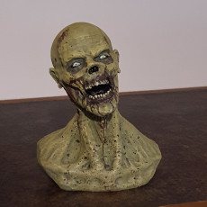 Picture of print of Zombie Bust