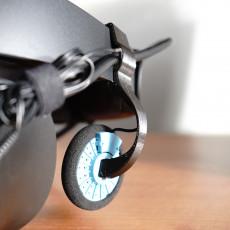 Oculus Rift S - Springy Headphone Mount - Koss PortaPro