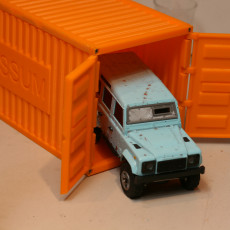 1/32 20ft Shipping Container
