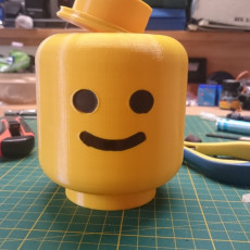 Picture of print of Lego Head Container