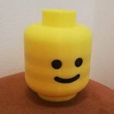 Picture of print of Lego Head Container This print has been uploaded by Gabriel Rodríguez