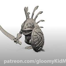 Murloc (sword and shield)
