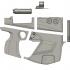 Borderlands 3 Pistol Replica Prop (For Smaller Print Beds) image