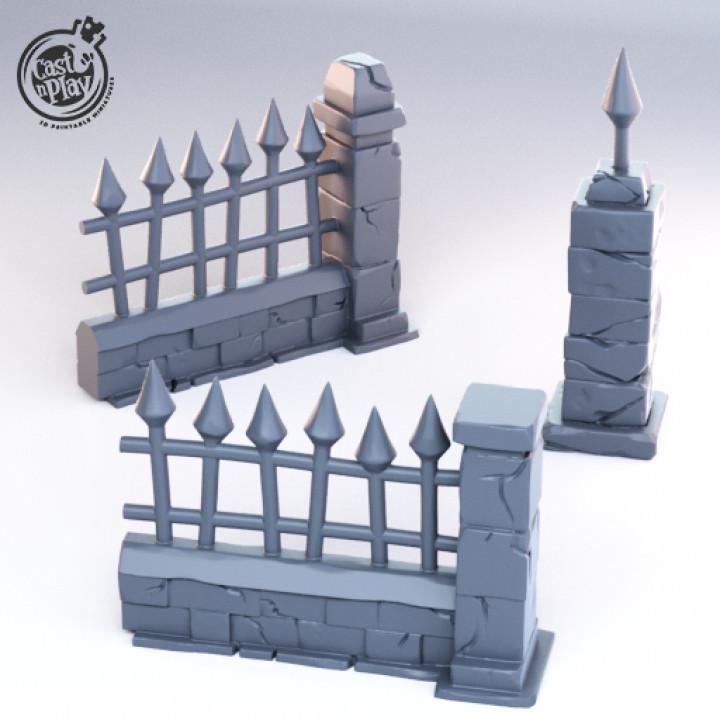 Graveyard Fences