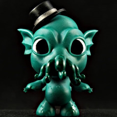 Picture of print of Fancy Cthulhu