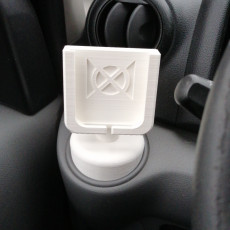 Picture of print of iPhone Cradle for Nissan NV200