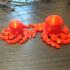 Cute Mini Octopus print image