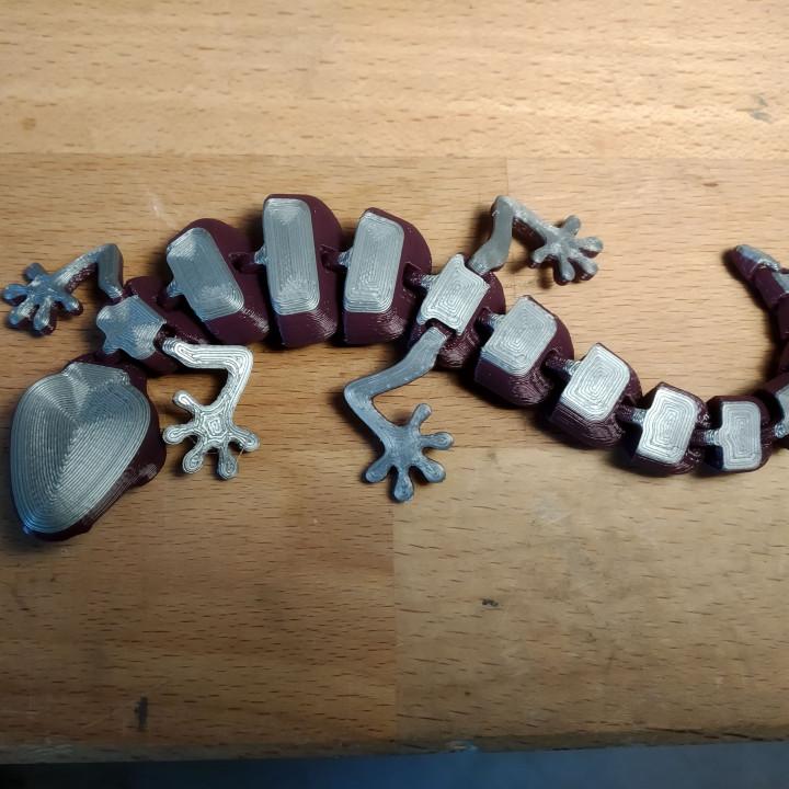 Articulated Lizard