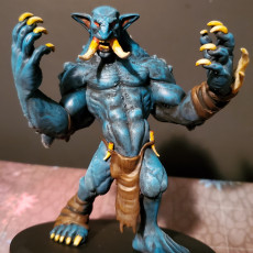 Picture of print of Troll - D&D Miniature