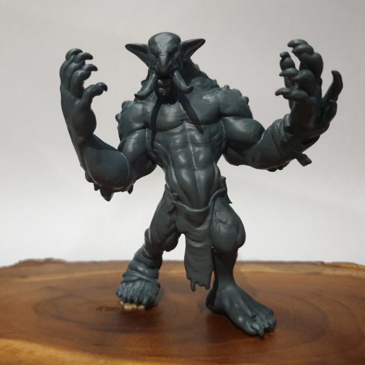 Troll - D&D Miniature