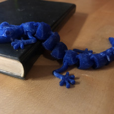 Picture of print of Articulated Lizard v2 Multimaterial Remix