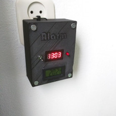 3D printed Arduino Home Automation System | Alarm Clock that is adjustable via webpage