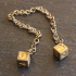 Star wars gold dice of han solo image