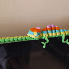 Picture of print of Articulated Chameleon