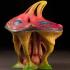 """Tabletop plant: """"Strange Mushroom"""" (Alien Vegetation 03) image"""