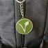 Vegan/Vegetarian logo Keychain image